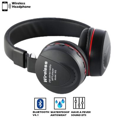 MS-771 Foldable Xtra Bass Stereo Gaming Earphones Wireless Headphones (Black)