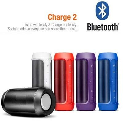 The Echt  Charge 2 Plus Speaker Compatible with Samsung Galaxy J3 Bluetooth Speaker with SD Card and USB Slot Speaker|Pendrive,FM,Aux,TF Supported (Color as per Availability)