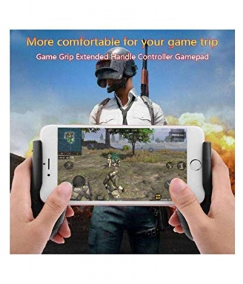 The Echt Mobile Game Controller, Gamepad L1R1 Aim Triggers Fire Buttons Sensitive Shoot with Joysticks for PUBG/Rules of Survival/Knives Out Fits iOS Android 4.5