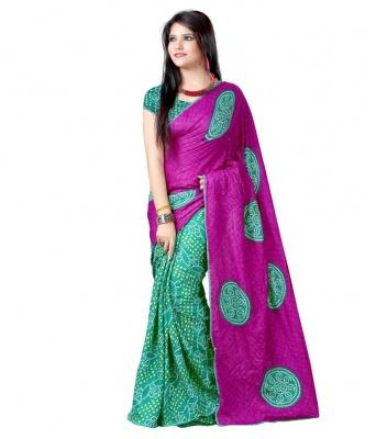 Bandhani 703 Design Fashion Georgette Sarees- For Women