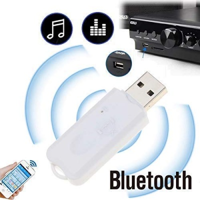 Universal USB Bluetooth Audio Stereo Receiver Wireless Handsfree Bluetooth Adapter Dongle Kit for Speaker for iPhone for car or Home