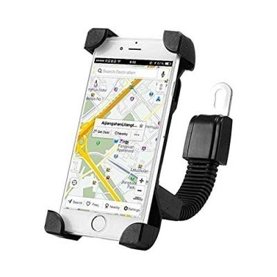 360 Degree Universal Bike Holder 360 Degree Rotating Bicycle Holder Motorcycle Cell Phone Cradle Mount Holder Mobile Phones (1 Piece) (Activa & Bike Holder