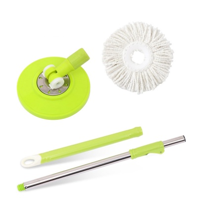 Magic 360 Degree Rotating Head, Mop Stick with 1 Refill (Multicolour)