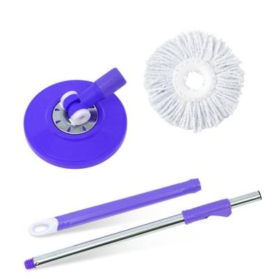 Office Use Mop Refill Magic Mop 360 Degree Rotating Mop Head, Mop Stick (1 Pcs Refill Free)