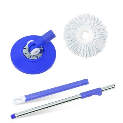 Super Mop Refill Magic Mop 360 Degree Rotating Mop Head, Mop Stick (1 Pcs Refill Free)