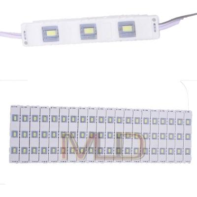 3 LED Strips 12V Waterproof 5630/5730 LED SMD Injection Module White - 20 Module