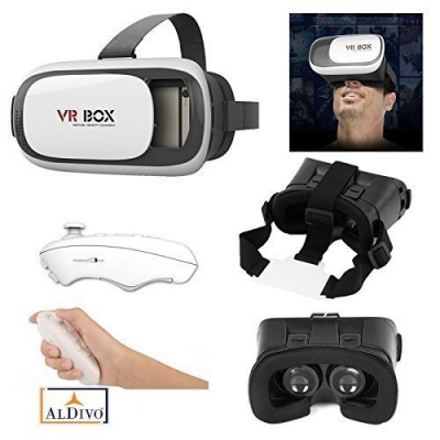 3D Vr Box For Xiaomi Redmi Mi5 With Bluetooth Remote Control, Virtual Reality Headset 3D Glasses Version 2.0 Vr Box For Xiaomi Redmi Mi5 / Vr Box For 3.5~6.0
