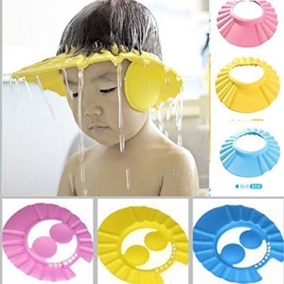 Baby Shower Cap New Baby Products Baby Bath Products Assorted Colors