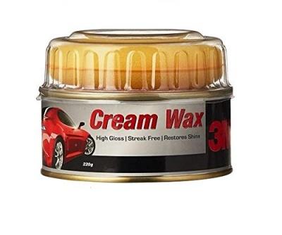 3M Wax Cream Wax High Gloss/Streak-Free/Restores Shines