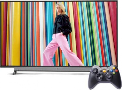 Motorola 80.5cm (32 inch) HD Ready LED Smart Android TV with Wireless Gamepad  (32SAFHDM)#JustHere
