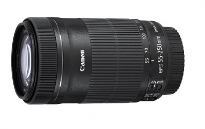 Canon EF-S 55-250mm f/4-5.6 IS STM Lens