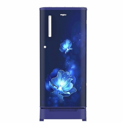 Whirlpool 190 L 4 Star Inverter Direct-Cool Single Door Refrigerator (WDE 205 ROY 4S INV, Sapphire Radiance, Inverter Compressor) with Base-Drawer
