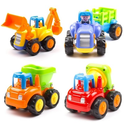 Unbreakable Automobile Car Toy Set of- 4