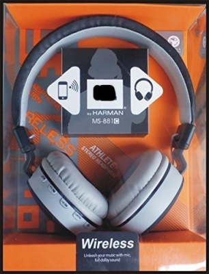 OWS MS-881 Dolby Sound Bluetooth Headphone Handfree with FM and Micro SD Card Slot for All Phone's