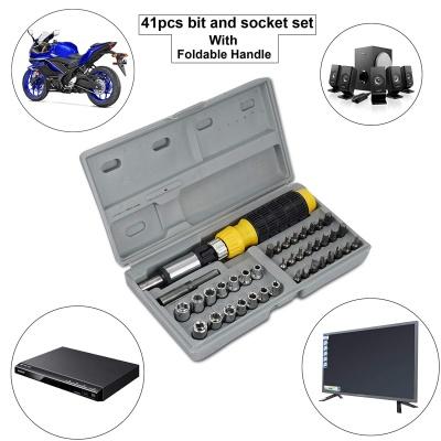 Multipurpose Tool Kit Screwdriver Set - 41 in 1 Pcs Tool Kit Screwdriver and Socket Set Screwdriver Set for Home Screwdriver kit Home Tool kit Set