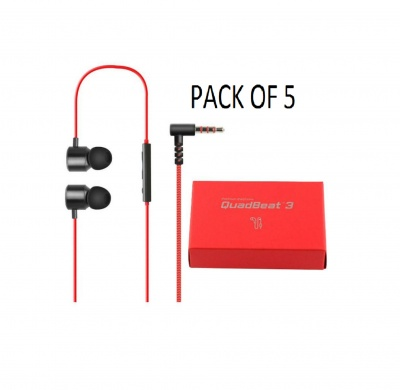 LG Quadbeat 3 In Ear Headphones HSS-F630 For LG G4 (PACK 0F 5 )