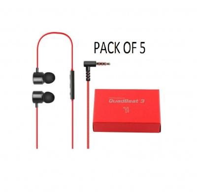 LG Quadbeat 3 In Ear Headphones HSS-F630 For LG G4 (PACK 0F 5 )
