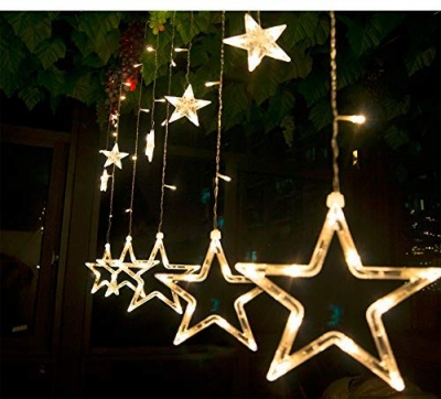 10 Stars LED String Lights for Bedroom; Wedding; Party; Diwali and Christmas Decorations