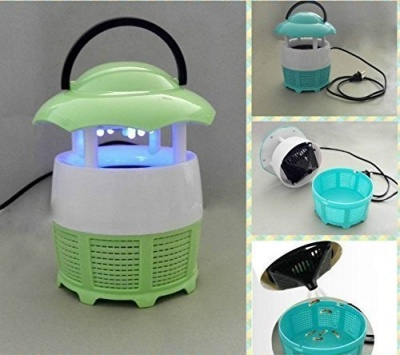 Mini Home Mosquito Lamps Fly Killer No Radiation Eletronic Mosquito Catching Machine with Night lamp (Multi Colour)