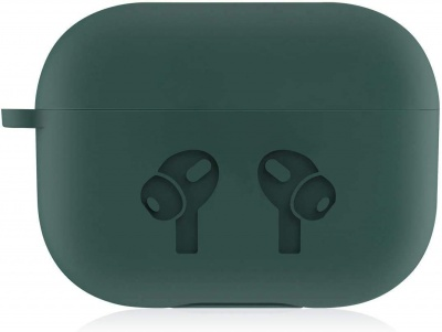 Airpods pro Case Soft Silicone Full Protective Shockproof Cover Set -Green