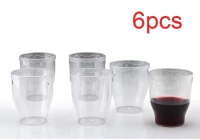 Glassware & Drinkware - Fancy Glass, Transparent Glasses Set 300ml (6pcs)