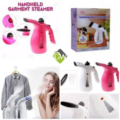 Portable Handheld Garment Steamer & Facial Garment Vapor Steamer Iron Brush for Home and Travel Handy Steamming Clothes Mini Handheld Ironing Cleaning Machine Instrument