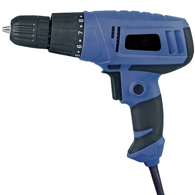 screwdriver cum electric 10mm drill machine 750rpm variable torque setting reversible forwarded keyless drilling gun 350w -XP-SD16H [color_multi/material_Plastic]