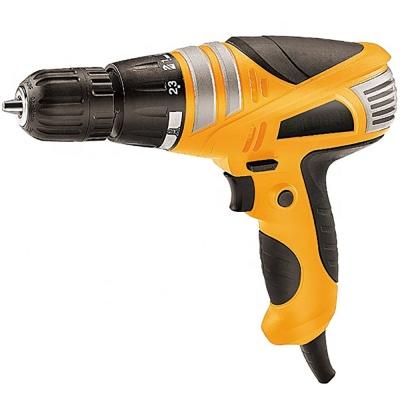 10mm Torque Adjustment System Electric Screw Driver Cum Drill Machine Screwdriver Drill Collated Screw Gun Corded APSD12C-(10 mm_350w_0-750 Rpm_230v 50Hz_Multicolor_Plastic)