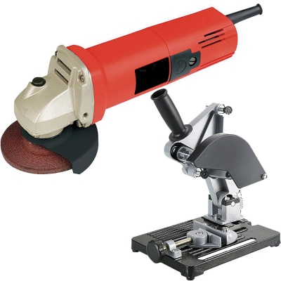 4 inch 850W angle grinder machine 220V 50/60Hz  grinding power tools  with Angle Grinder Fixed Bracket Cutting Machine Stand for 100 mm Combo Offer (4 Inches, 850W, 11000 Rpm, 220V 50Hz, Color-Multi)