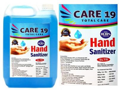 Hand Sanitizer Liquid 5 Liter