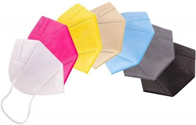 N95 Mask without Filter valve N95 Multicolor Mask Best Mask For Virus Protection N95 Safety Mask Reusable Collection For Daily Use for Men and Women N95 Face Mask Multi Color Washable, Reusable  (Multicolor, Free Size, Pack of 7)