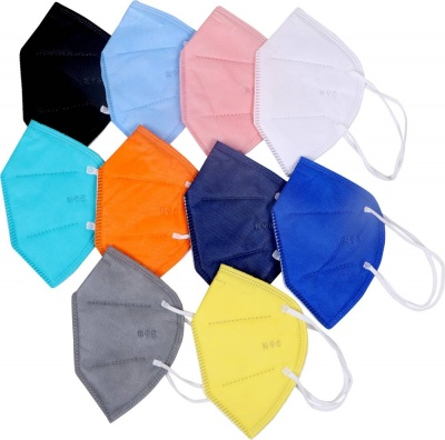 COMBO OF PREMIUM QUALITY N95 5-LAYER WITHOUT RESPIRATOR, N95 SINGLE BAG PACKING WASHABLE MASK FOR MEN, WOMEN , PREMIUM QUALITY, CERTIFIED MELT BLOWN MASK N-95 5-LAYER, INNER NOSE PIN CERTIFIED MELTBLOWN MASK WITH FULL SAFETY FACE MASK N95 5-LAYERS INNER N
